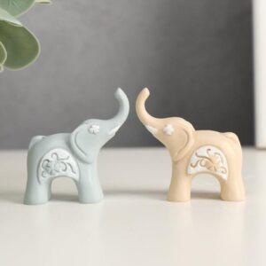 Миниатюрный слоник с клевером 55985