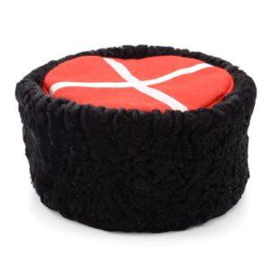 Кубанка натуральный каракуль черная 48711