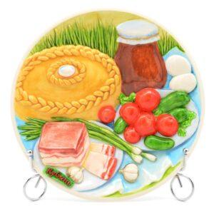 Тарелка Кубанский стол Хлеб, соль 50253