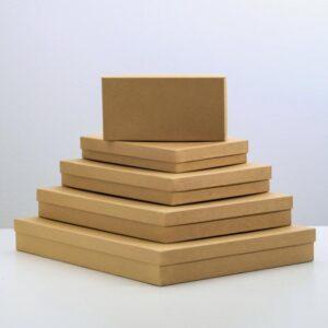 "Подарочная коробка ""Крафт однотонный"" 57266"