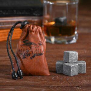 """Камни для виски """"Настоящий мужчина"""", 4 шт. 48502"""