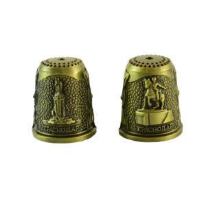 Наперсток Краснодар Екатерина 2 и Памятник Казачеству (бронза) 42812