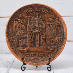 Тарелка Краснодар триумфальная Арка (ручная работа) 56371