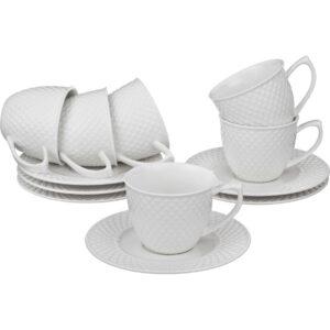 Кофейный набор на 6 персон 12 предметов 90 мл. 47038