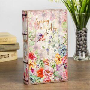 "Сейф-книга дерево ""Весна в воздухе"" кожзам 21х13х5 см 57954"