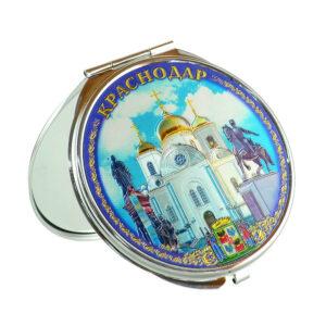 Зеркало Краснодар Коллаж (металл) 42663