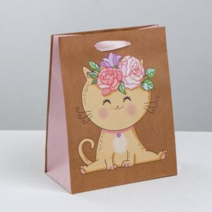 Пакет «Милашке», ML 23 × 27 × 11.5 см 55089
