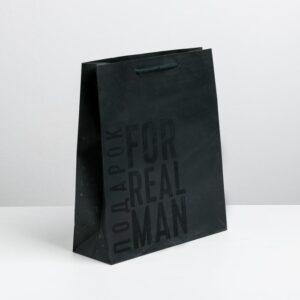 Пакет «Мужская воля», S 12 × 15 × 5.5 см 55581