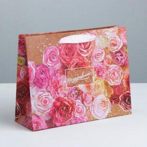 Пакет «Цветочное настроение», ML 27 × 23 × 8 см 55086