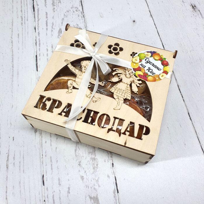 Сухофрукты с Кубани в подарочной коробке мал. 55431