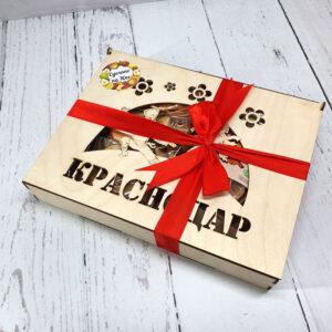Сухофрукты с Кубани в подарочной коробке бол. 55433