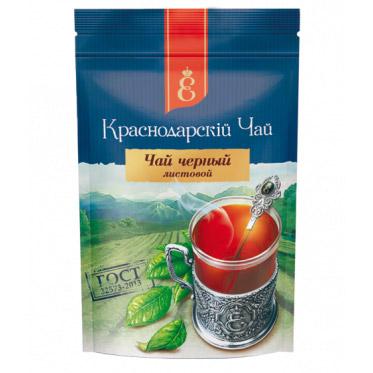 """Чай черный """"Краснодарскiй чай"""" листовой 90 г. 52790"""