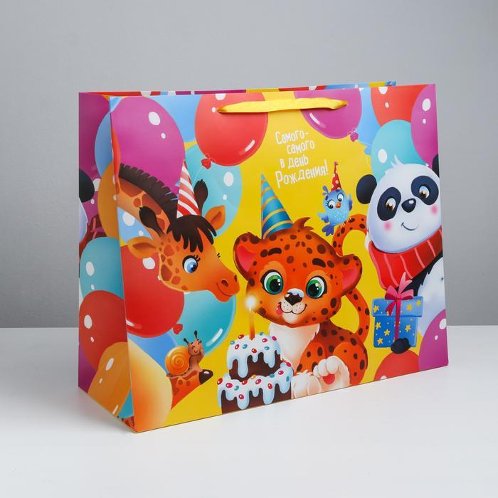 Пакет «С Днём Рождения!», XL 49 × 40 × 19 см 56001