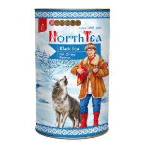 Тубус чай черный крупнолистовой «North Tea» ручной сбор 70гр 52791