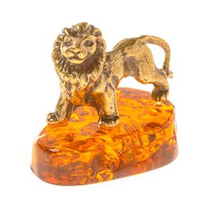 Лев (янтарь) 39764