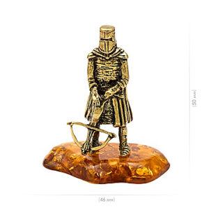 """Рыцарь """"Тамплиер"""" (янтарь) 40050"""
