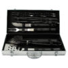Набор для барбекю: 4 шампура, 8 вилок, щётка, вилка, щипцы, шпатель, нож 54616