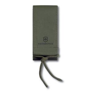 Чехол на ремень Victorinox 4.0837.4 для ножей 130 мм, на липучке, из искуственной кожи, зелёный