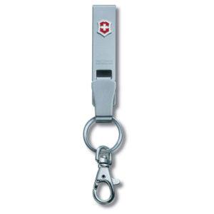 """Подвеска на ремень Victorinox 4.1858 """"Multiclip"""", с карабином и кольцом для ключей, металлическая"""
