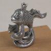 """Фигурка """"Выполню любые твои желания"""" (Золотая рыбка с короной, стоит на хвосте) 56966 97839"""