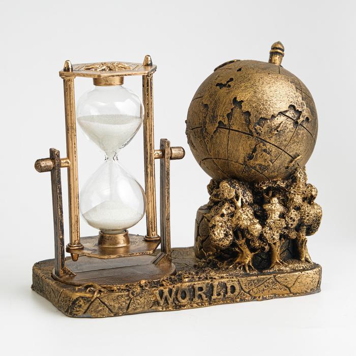 """Часы песочные """"Мир"""" 57256"""
