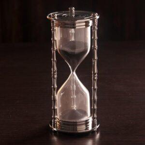 """Песочные часы """"Маеджа"""" латунь, алюминий (5 мин) 57247"""