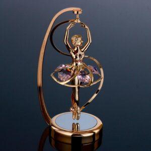 "Сувенир с кристаллами Swarovski ""Балерина в арке"" 57225"