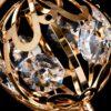"""Сувенир с кристаллами Swarovski """"Глобус"""" 9,3х6,7 см 57222 106930"""