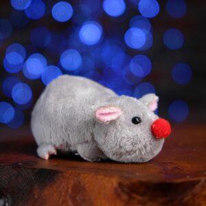"""Мягкая игрушка-магнит """"Мышка"""" цвет МИКС 50873"""
