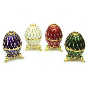 Яйцо под Фаберже сетка шкатулка 49238