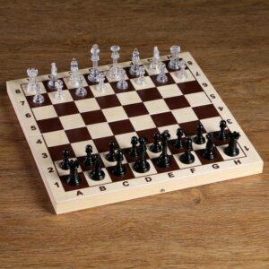 Фигуры шахматные, король h=5.8 см, пешка h=2.8 см 52333