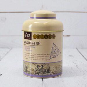 Чай зеленый с мятой и крапивой ручной сбор в жестяной банке 90гр 54323