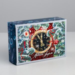 Коробка «Новогодние куранты» 51618