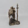 Статуэтка Покаяние казака, с крестом 55225 90531