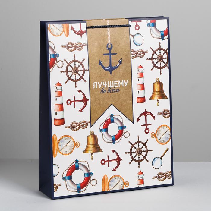 Пакет «Лучшему», L 40 × 31 × 9 см 57088