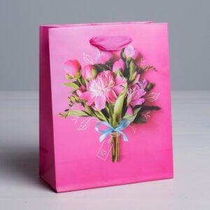 Пакет «Самой прекрасной», S 12 × 15 × 5,5 см 57103