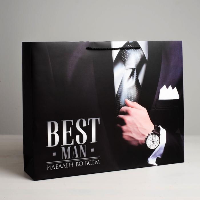 Пакет Best man, XL 49 × 40 × 19 см 56017