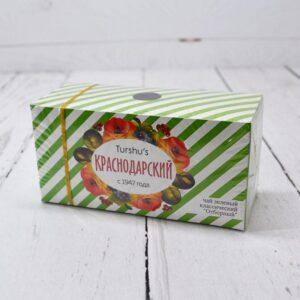 """Чай зеленый классический """"Отборный"""" 25 пакетиков Краснодарский 46676"""