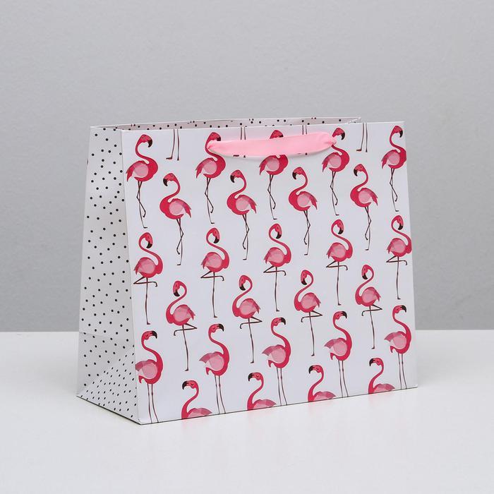Пакет «Фламинго», ML 27 × 23 × 11,5 см 56032