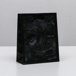 Пакет Wood style, S 12 × 15 × 5.5 см 57127