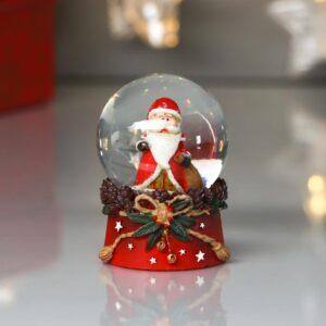 """Снежный шар """"Дед Мороз с мешком подарков и венком"""" 53950"""