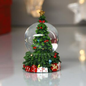 "Снежный шар ""Нарядная ёлочка с подарками"" 53951"