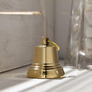 Колокольчик Валдайский №2, полированный, с ушком, d=35 мм 54905