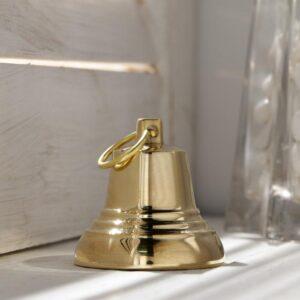 Колокольчик Валдайский №3, полированный, с ушком, d=40 мм 54906