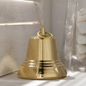 Колокольчик Валдайский №5, полированный, с ушком, d=53 мм 54909