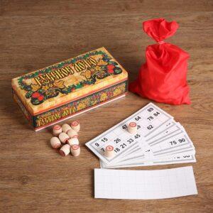 Русское лото в картонной упаковке 54363