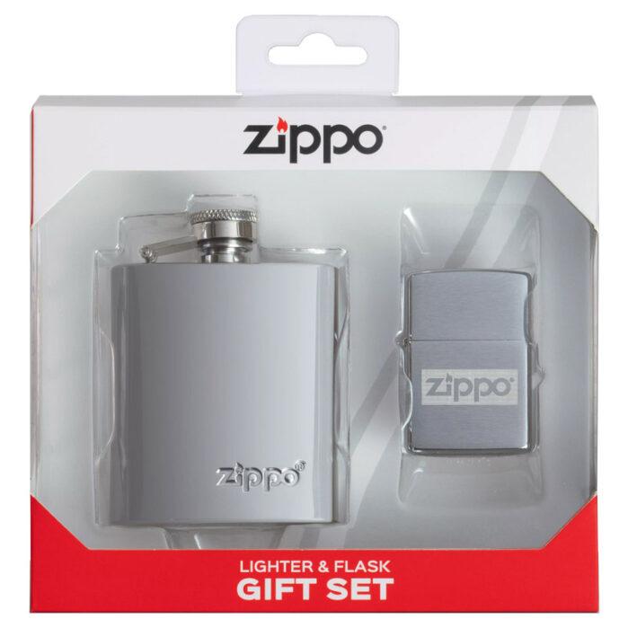 Набор Zippo: фляжка 89 мл и Зажигалка Zippo (зиппо)