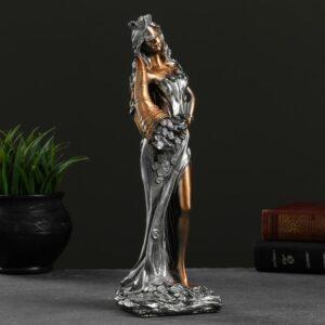 "Богиня ""Фортуна"" золото с серебром 54444"