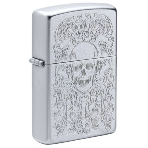 Зажигалка Zippo (зиппо) №49571 Skull Design