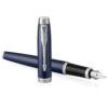 Перьевая ручка Parker IM Core - Matte Blue CT 1931647 31266